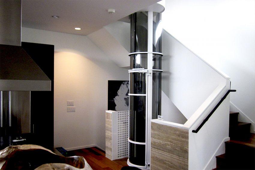elevador vivienda unifamiliar