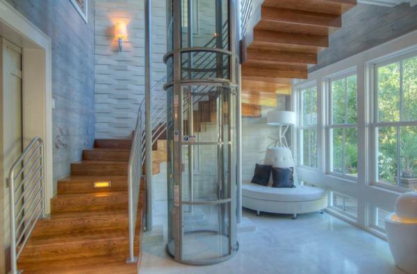 Elevador neumático escaleras