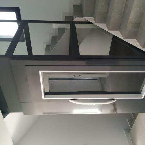 ascensor de plataforma panorámico