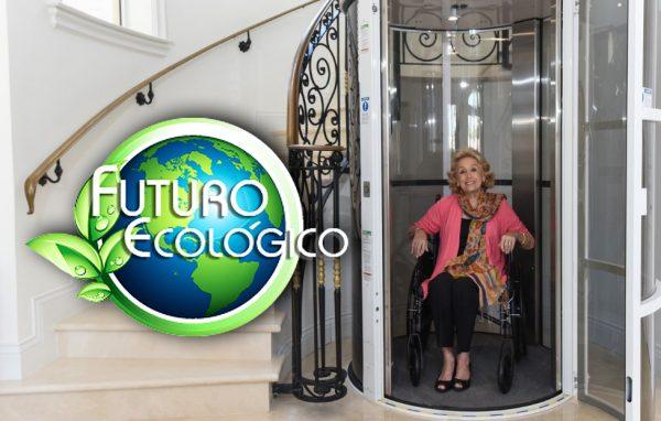 ascensor neumático amigable con el medio ambiente