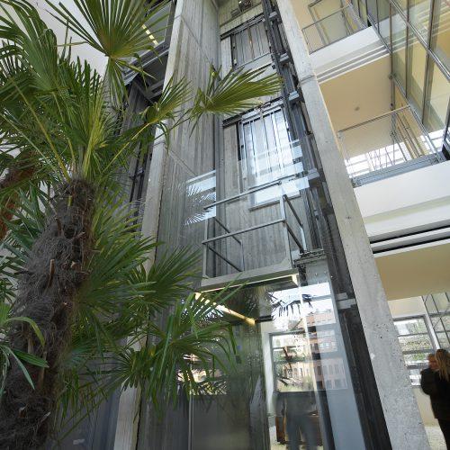 ascensores bonitos y lujosos