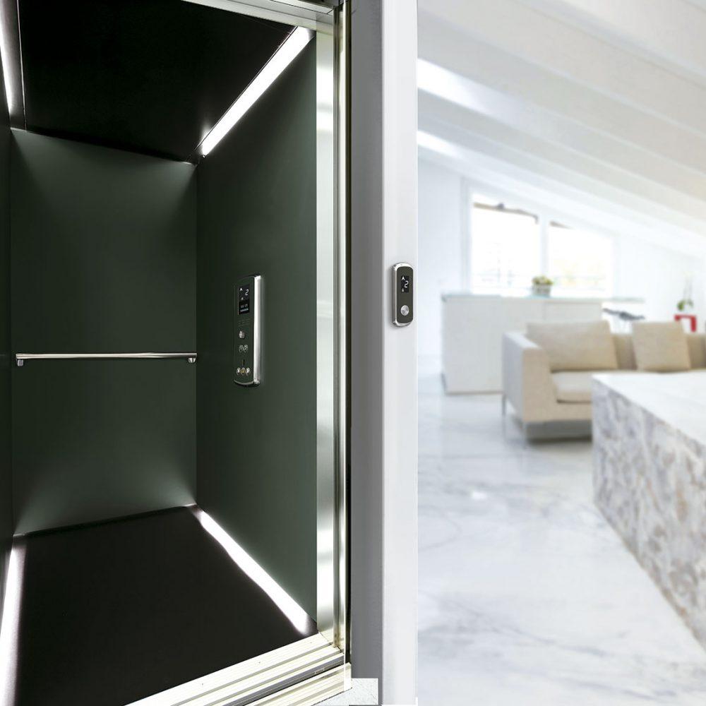 Ascensor serie k para apartamentos